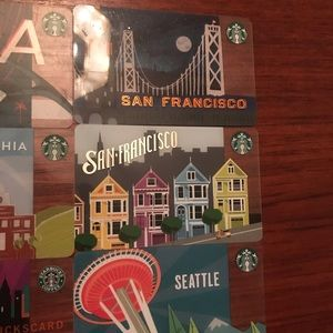 Starbucks Other - New collectible Starbucks cards!